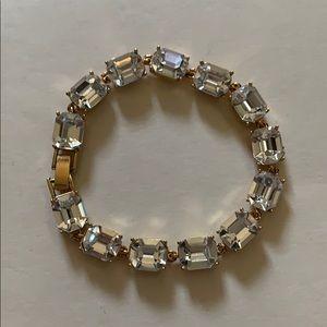 Gold Crystal Carolee Bracelet